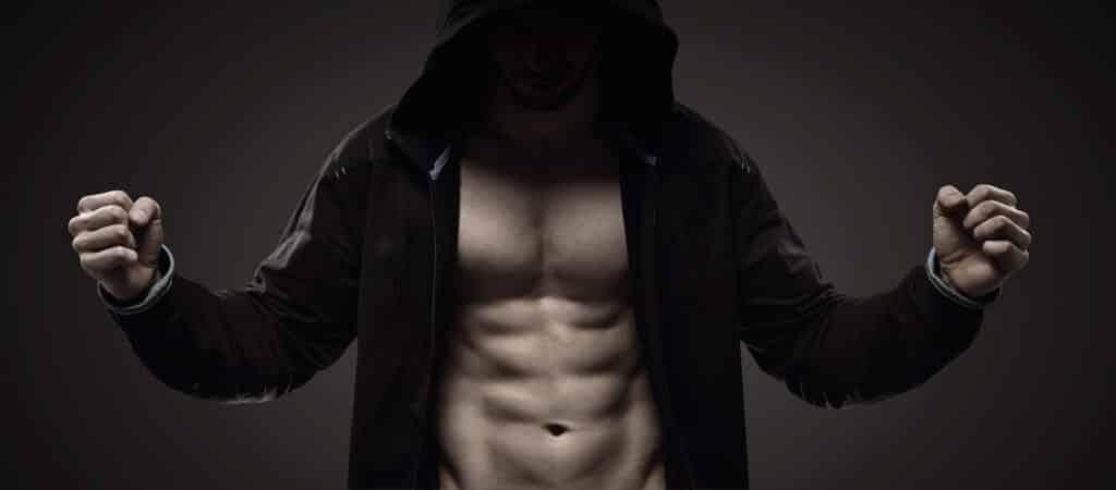 testosterone muscles men man